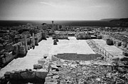 Republic Posters - Roman Forum Agora At Kourion Republic Of Cyprus Europe Poster by Joe Fox