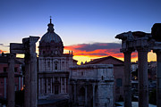 Martina Framed Prints - Roman Forum at Dawn Framed Print by Brian Jannsen