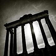 Famous Photo Posters - Roman Forum Poster by David Bowman
