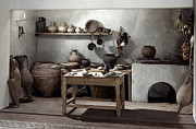 Roman Kitchen, 100 A.d Print by Granger