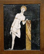 Ancient Rome Art - Roman Mosaic Of Venus by Sheila Terry
