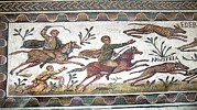 Animals Photos - Roman Mosaic by Sheila Terry