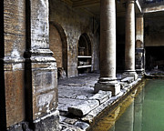 Briton Digital Art Prints - Roman Pillars  Print by Vicki Lea Eggen