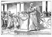 Patrician Posters - Roman Senate: Catiline Poster by Granger