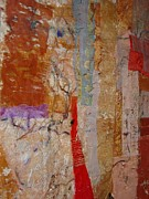 Architecture Tapestries - Textiles Prints - Roman Walls and Buildings Print by Ruth Hobart