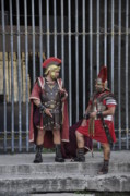Colliseum Photos - Roman Warriors by Andrew Dinh