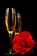Sparkling Rose Photo Posters - Romance Poster by Darren Fisher