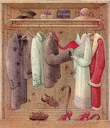 Furniture Originals - Romance in the cupboard by Kestutis Kasparavicius