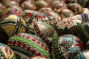 Shell Pattern Framed Prints - Romanian Easter eggs Framed Print by Emanuel Tanjala