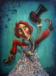Circus Metal Prints - Romanivsk Metal Print by Fabrini Crisci