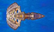 Archifou Digital Art - Romano Spaceship - Archifou 73 by Aimelle