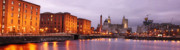 Liverpool Prints - Romantic Liverpool Print by Sydney Alvares