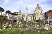 Lazio Photos - Rome - Forum of Trajan by Joana Kruse