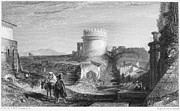 1833 Prints - Rome: Appian Way, 1833 Print by Granger