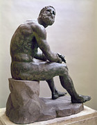 1st Century B.c. Photos - Rome Boxer Sculpture by Granger