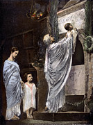 Martyr Metal Prints - Rome: Christian Widow Metal Print by Granger