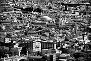 Catholic Fine Art Prints - Rome Cityscape 4 Print by John Rizzuto