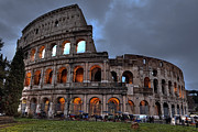 Lazio Photos - Rome colosseum by Joana Kruse