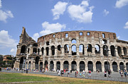 European Capital Framed Prints - Rome Colosseum Framed Print by Shay Levy