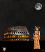 Michelangelo Mixed Media Prints - Rome Fashion Print by Eric Kempson