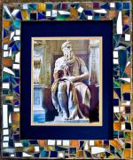 Rome Glass Art - Rome I by Diane Morizio