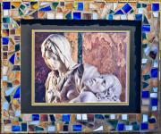 Frame Glass Art - Rome II by Diane Morizio