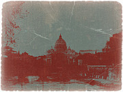 Cathedral Digital Art - Rome by Irina  March