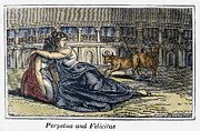 Discrimination Framed Prints - Rome: Perpetua & Felicitas Framed Print by Granger