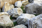 Stones Originals - Rome Ruins Stones by Munir Alawi