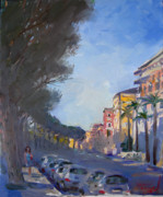 Rome Cityscape Paintings - Rome by Ylli Haruni