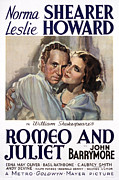 Romeo And Juliet Prints - Romeo And Juliet, Leslie Howard, Norma Print by Everett