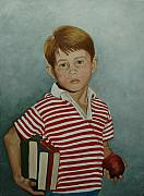 Andy Griffith Show Paintings - Ron Howard as Opie Taylor by Tresa Crain