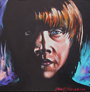 Ron Ron Paintings - Ron by Jean Alexander