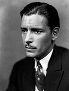 Mustache Framed Prints - Ronald Colman, 1920s Framed Print by Everett