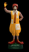 Hamburgers Art - Ronald McDonald by Andrew Fare