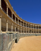 Ronda Prints - Ronda Bullring Print by Kenton Smith
