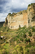 Southern Province Metal Prints - Ronda Rock in Andalusia Metal Print by Artur Bogacki
