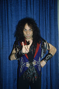Rich Fuscia Prints - Ronnie James Dio Backstage Print by Rich Fuscia