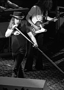 Concert Images Art - Ronnie Van Zant at Winterland by Ben Upham