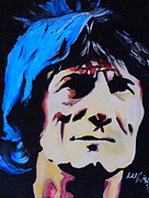 Ronnie Wood Art - Ronnie Wood by Martin Putsey