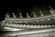 Starry Originals - Roof National Palace Museum Taiwan City - Taipei  by Christine Till