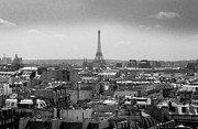 Architecture Photo Metal Prints - Roof of Paris. France Metal Print by Bernard Jaubert