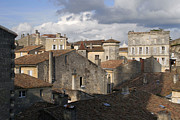 Bordeaux Framed Prints - Roof Top View W1079 Framed Print by Wes and Dotty Weber