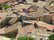 Provence Photos - Roofs Of Provence by Bernard Gaillot