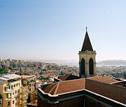 Residential Structure Prints - Rooftop Of The Church Of St Anthony Of Padua Print by Andrew Rowat