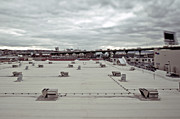 New York City Rooftop Photos - Rooftop Vents by Eddy Joaquim
