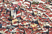 Aerial Posters - Rooftops Of Alfama, Lisbon Poster by Www.jfd19deabril.com