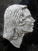 Grey Sculptures - Roohi Bano 01 by Mohd Raza-ul Karim