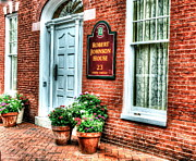 Annapolis Maryland Prints - Room at the Inn Print by Debbi Granruth