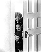 Marx Framed Prints - Room Service, Harpo Marx, Groucho Marx Framed Print by Everett